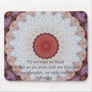 INSPIRATIONAL Buddhist Quote, Saying Mousepads