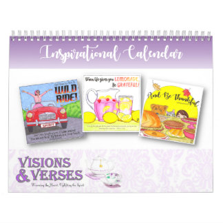 Inspirational Calendar by Visions and Verses