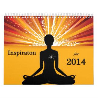 Inspirational Calendar for 2014