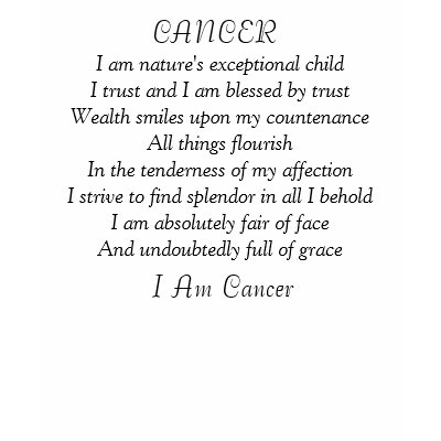 horoscopes cancer  personality