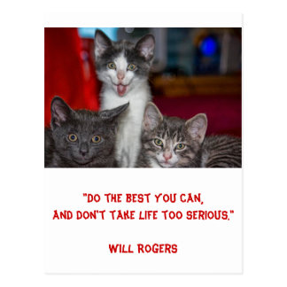 Inspirational card 'Doing your best' 1 - Post Card