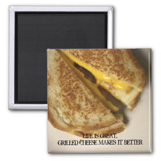 Inspirational & Cheesy Grilled Cheese Magnet