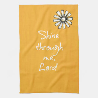 Inspirational Christian Quote Affirmation Prayer Hand Towels