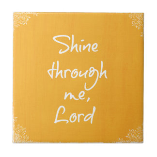 Inspirational Christian Quote Affirmation Prayer Tiles