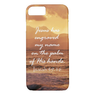 Inspirational Christian Quote iPhone 7 Case