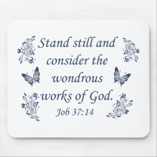 Inspirational Christian quotes Mouse Pad