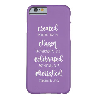 Inspirational Christian Scripture Affirmations Barely There iPhone 6 Case