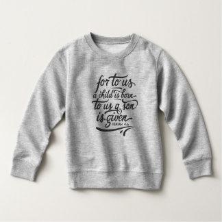 Inspirational Christmas Bible Verse   Sweatshirt