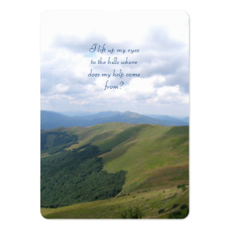 Inspirational  - Chubby B. Card Large Business Cards (Pack Of 100)