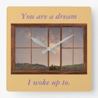 Inspirational Clock - Love
