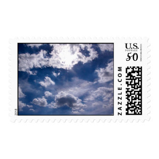 Inspirational Clouds Postage
