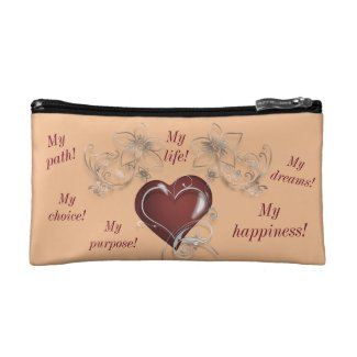 Inspirational Cosmetic Bag - Be You
