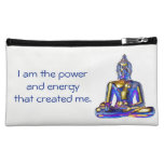 Hand shaped Inspirational Cosmetic Bag - Be You