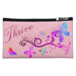 Hand shaped Inspirational Cosmetic Bag - Rise Up