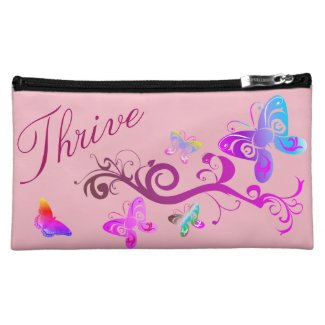 Inspirational Cosmetic Bag - Rise Up