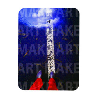 Inspirational creative call to MAKE ART Magnet