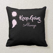Inspirational Cushion - Semicolon mental health