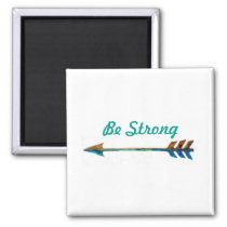 Inspirational Custom Watercolor Arrow Magnet