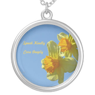Inspirational Daffodil Necklace
