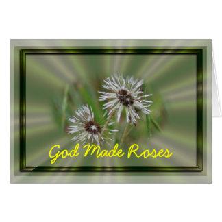 Inspirational Dandelion Card- customize Greeting Card