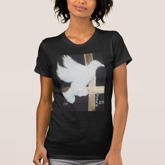 Inspirational Dove John 3:16 T-Shirt