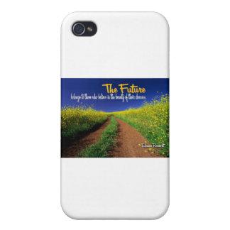 Inspirational Dream Quote -- Eleanor Roosevelt iPhone 4/4S Case