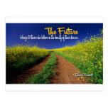 Inspirational Dream Quote -- Eleanor Roosevelt Post Card