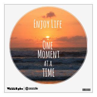 Inspirational: Enjoy Life: One Moment... Wall Graphics