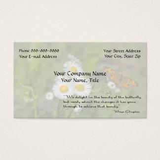 Inspirational Environmentalist Psychologist Business Card