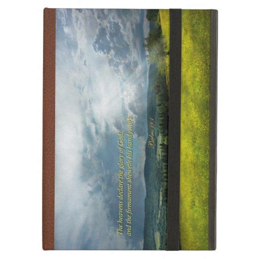 Inspirational - Eternal hope - Psalms 19-1 iPad Air Covers