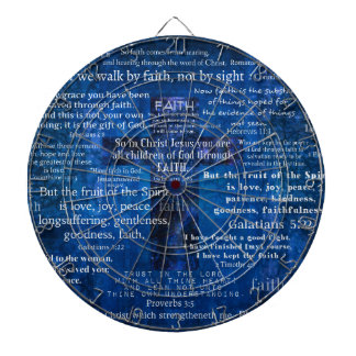 Inspirational Faith Bible Verses Dart Boards