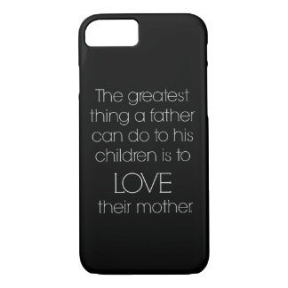 """Inspirational Father"" iPhone 7 CASE"