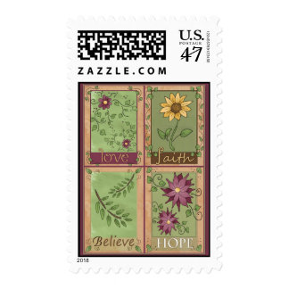 Inspirational Floral Postage