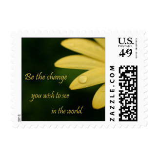 Inspirational flower postage stamps bulk discount