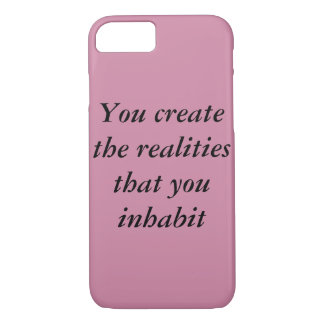 inspirational, food for thought iPhone 8/7 case