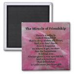 Inspirational Friendship Poem Fridge Magnet