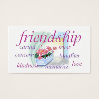 Inspirational Friendship Wallet Size Card