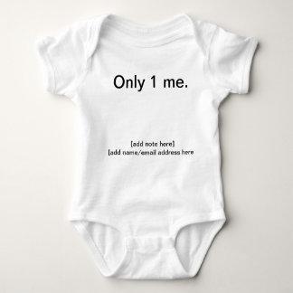 Inspirational, fun clothing baby bodysuit