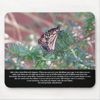 Inspirational Gifts Life Changes Mouse Pad