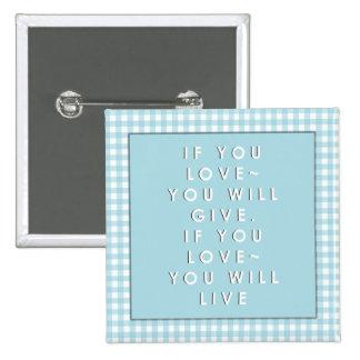 inspirational gifts pinback button