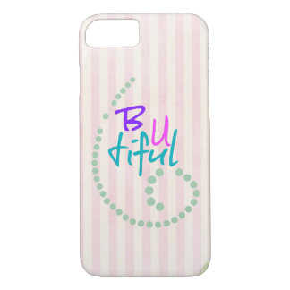 Inspirational Girly Affirmation Quote iPhone 8/7 Case