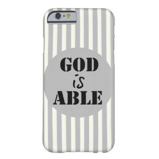 Inspirational God is Able Barely There iPhone 6 Case