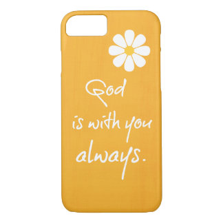 Inspirational God Quote iPhone 7 Case