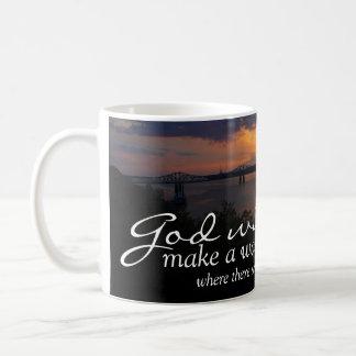 Inspirational: God Will Make A Way... Mugs