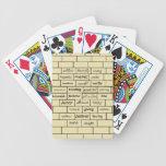 Inspirational Graffiti Playing Cards