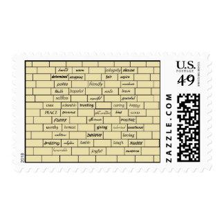 Inspirational Graffiti Postage Stamps
