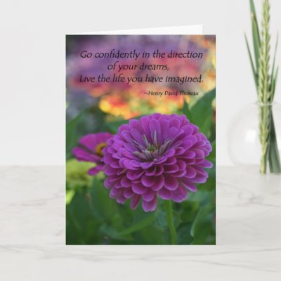 Inspirational Greeting Cards on Inspirational Greeting Card Confidence Quote Gifts From Zazzle Com