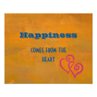 Inspirational Happiness Quote   Poster
