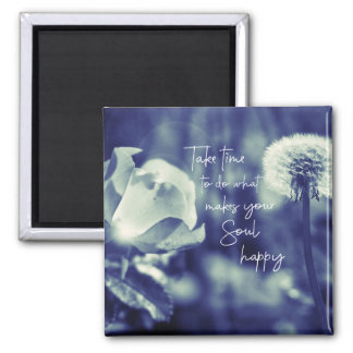 Inspirational Happy Quote Magnet