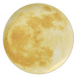 Inspirational Harvest Moon Designer Plate
